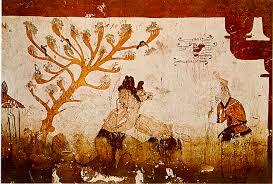 ancient painting of ssirium